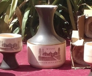Wynns Coonawarra Estate Carafe and Cups