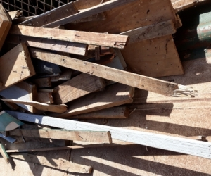FREE TIMBER and free colour bond sheets and metal posts