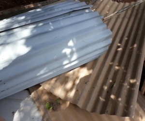 FREE COLOUR BOND SHEETS and steel posts