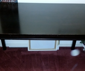 Table (76cm X 120cm X 74.5 cm) updated listing with dimensions