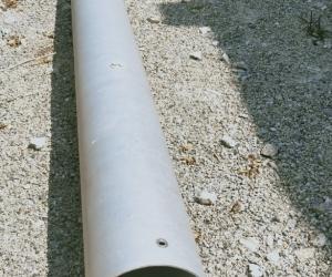 Aluminium tube for pool blanket roller