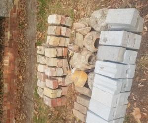 Building bricks unused