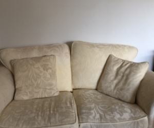 Light yellow Feather down Sofa set