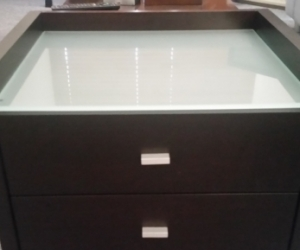 FREE Wooden Drawers with Glass top