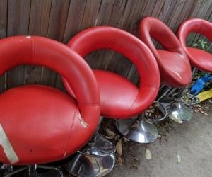 4x bench stools