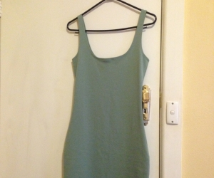 Green dress size 10-12