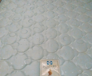 Queen bed mattress & base.
