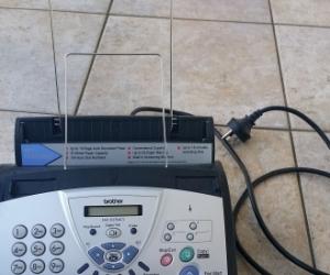 telephone, fax, copier