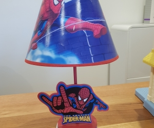 Spiderman bedside lamp