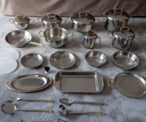Vintage  32 Pcs Cookware Set 18/12 Stainless Steel