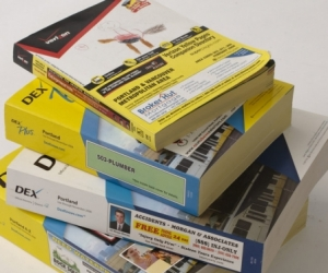 Melways or phone books