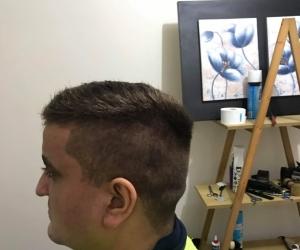 Free men's haircuts