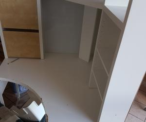 Corner Student Desk-Ikea Micke