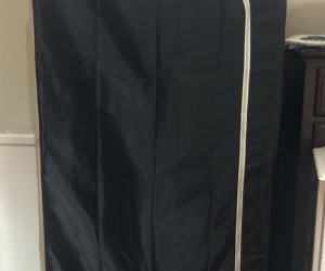 TWO Portable Wardrobes - Barely Used