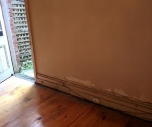 Timber floorboards