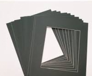 Off cut picture frame papers