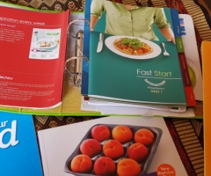 DIY Set of WeightWatchers books, guides, recipes