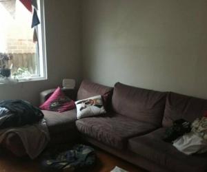 Well loved modular corner lounge
