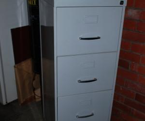 Filing Cabinet 4 drawer grey