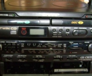 Sharp GX-CH170  cd radio cassette player