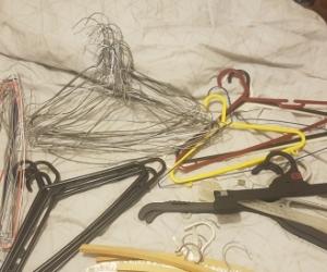 So many coat hangers