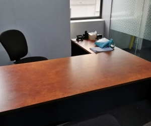 1 possibly 2 office desks