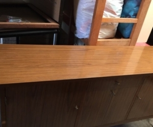 Kitchen Table  and sideboard cupboard