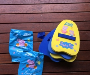 Swimming floaties and armbands
