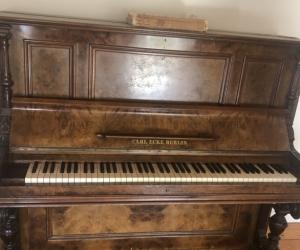 Upright piano in Melbourne
