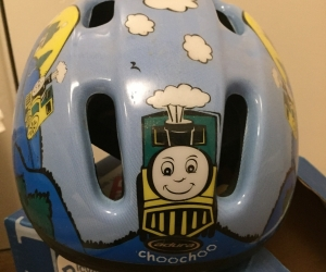 Child's bicycle helmet