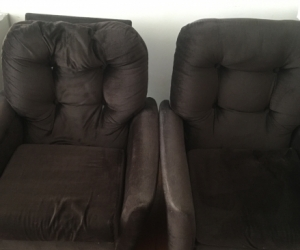 Two seater sofa and two couches