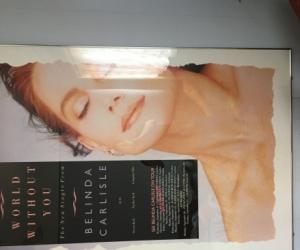 Massive Belinda Carlisle Framed Tour Poster