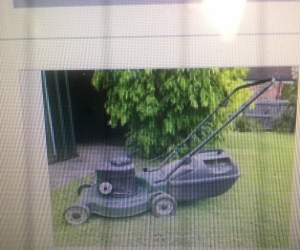 WANTED; Old Lawn Mover