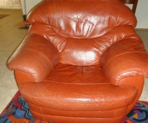 3 Piece Leather Lounge Suite