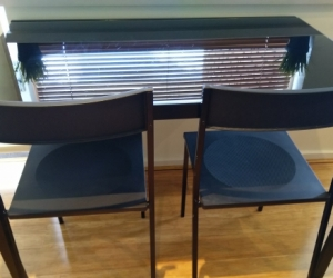 Table & 2 x Chairs