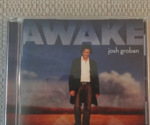 "Josh Groban CD, ""AWAKE""."