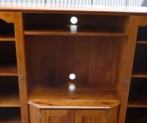 FREE---Tv-Wall unit SolidWood- cabinet by-KIRRIBILLI-brand