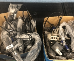 Computer Monitor Cables (lots)