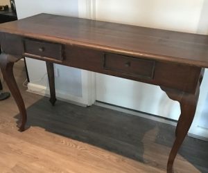 Hallway Table / Dresser - Timber