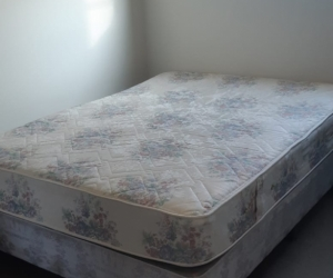 Queen bed and Mattress