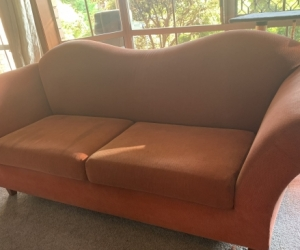 Two 3seater couch
