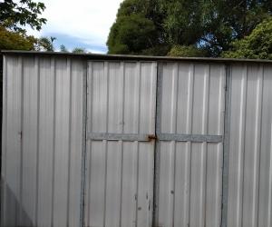 3x3 garden shed