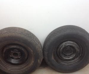 Spare car wheels