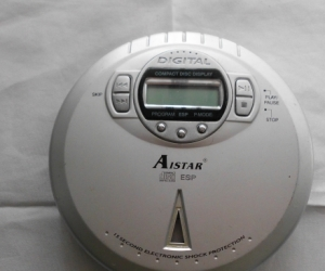 old portable cd