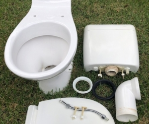 Free Caroma Toilet - S Trap