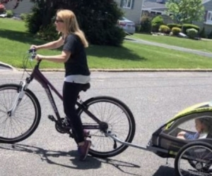 WANTED: ADULT BIKE WITH CHILD TRAILER PLS!