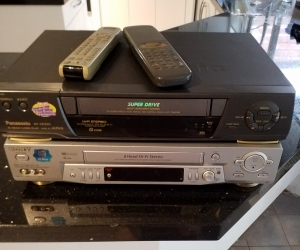 2 VCRs.......working