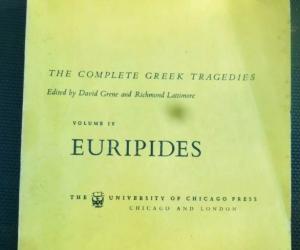 The Complete Greek Tragedies Volume IV Euripides Grene Lattimore