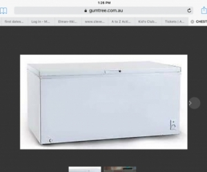 Second hand chest freezer