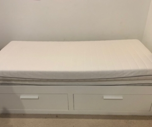 Ikea Single bed that converts to a double bed